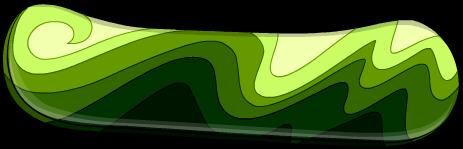 green-snowboard