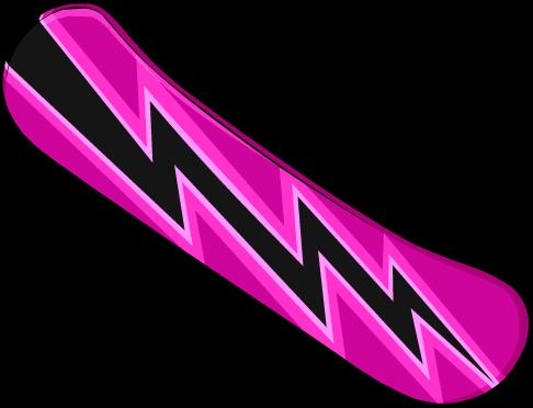 pink-snowboard