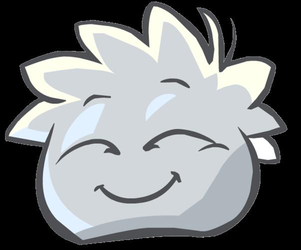 Puffle blanco1