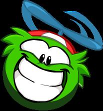 puffle verde