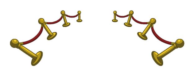 alfombra roja barandas