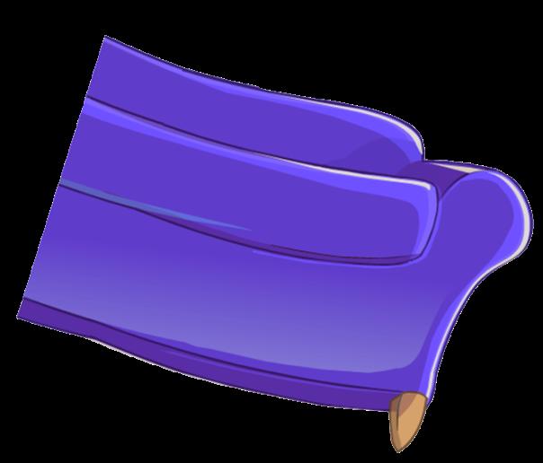 sillon violeta